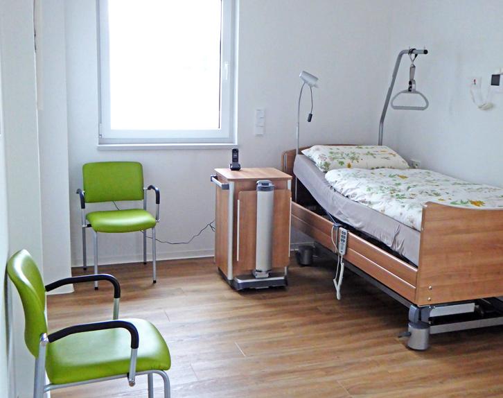 """Benötigen Sie eine Pflegewohnung für einen Angehörigen? Bei """"Nils - Wohnen im Quartier"""" im Goetheviertel können Sie solch eine Wohnung anmieten."""
